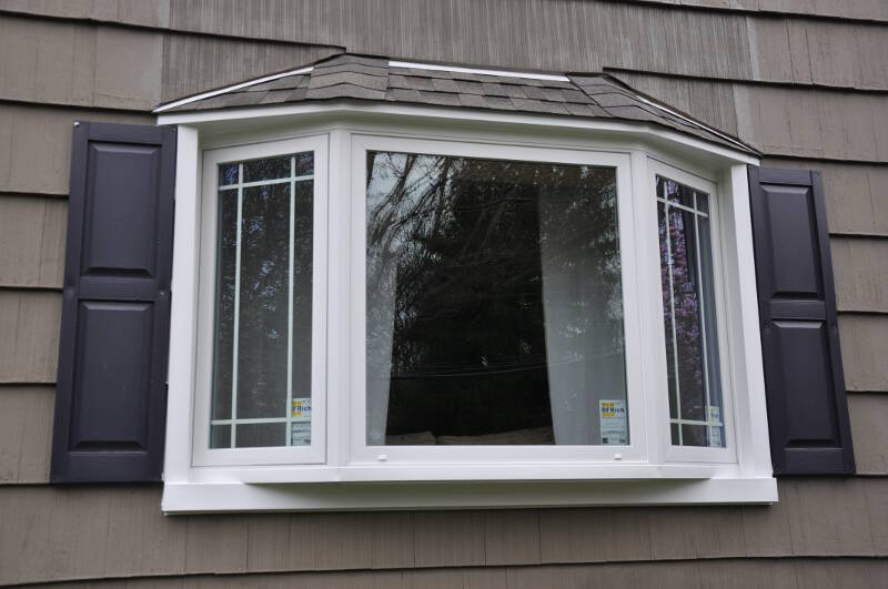 Lawrenceville home improvement center bay windows for Bay window installation