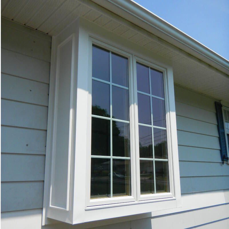Lawrenceville home improvement center box bay windows for Box bay window